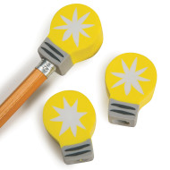 Light Bulb Pencil Topper (pack of 144)