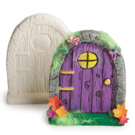 Color-Me™ Ceramic Bisque Fairy Door (makes 12)