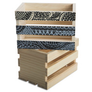 Small Wood Crates (pack of 6)