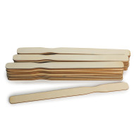 Laser Cut Wooden Paint Sticks (pack of 50)