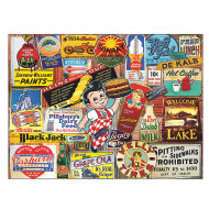 Tin Signs Puzzle, 300 Pieces