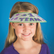 Color-Me™ Paper Visors (makes 48)