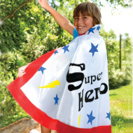 "Color-Me™ Super Hero Capes, 30""L (makes 12)"