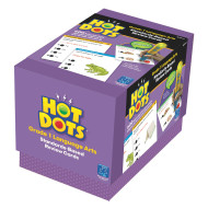 Hot Dots Standards-Based Language Art Card Set, Grade 1