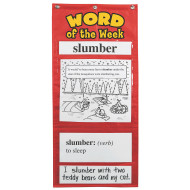 Word of the Week Pocket Chart Grades 3–4