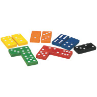 6 Color Sets of 6 Dominoes
