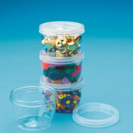 LockTight Storage Containers, Large 8oz. (pack of 4)