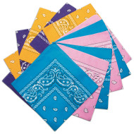 Bandanas - Fashion Colors  (pack of 12)