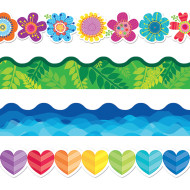 Springtime Bulletin Border Trim Pack (pack of 4)