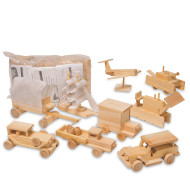 Unfinished Transportation Kit, Unassembled (pack of 12)