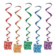 Happy New Year Whirls (pack of 30)