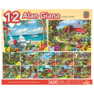 Beautiful Gardens 12-Puzzle Multipack