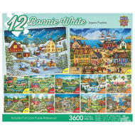 Old World Landscapes 12-Puzzle Multipack
