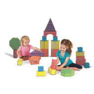 Cardboard Blocks and Shapes (set of 45)