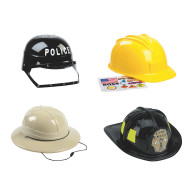 Pretend Play Hat Assortment (set of 4)