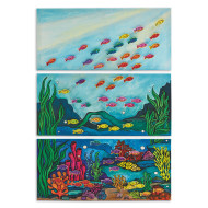 Ocean Triptych Collaborative Craft Kit