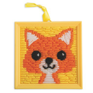 Fox Needlepoint Craft Kit (makes 12)