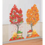 Autumn Tree Scene Setter (pack of 2)