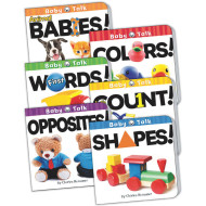 Baby Talk Board Book Set (set of 6)