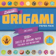 Deluxe Origami Paper Pack & Book