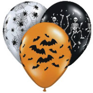 Halloween Design Balloons (pack of 50)