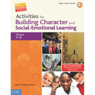 Activities for Building Character and Social Emotional Learning Book, Grades 1-2