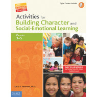Activities for Building Character and Social Emotional Learning Book, Grades 3-5