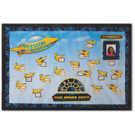 Space Crew Bulletin Board Set