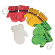 Color-Me™ Mitten Stringers (makes 24)