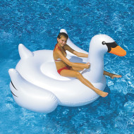 Giant Inflatable Swan Ride-On