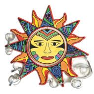 Velvet Aztec Sun Mobile Craft Kit (makes 24)