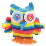 Sock Owl Craft Kit (makes 12)