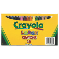 Crayola® Large Crayons (box of 16)