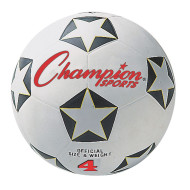 Champion Rubber Soccer Ball, Size 4