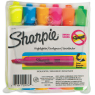 HIGHLIGHTER SHARPIE ASST. COLORS PK6