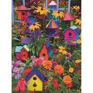 Birdhouses Easy Handling Puzzle, 275 Pieces