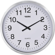 "Oversized 20"" Aluminum Wall Clock"