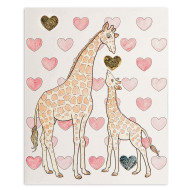 Color and Foil Giraffes Craft Kit (makes 12)