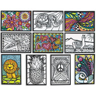 Mini Velvet Art Posters II (pack of 100)