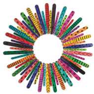 Craft Stick Wreath Craft Kit (makes 12)