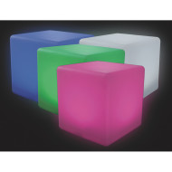 Color Change Light Up Cube, 16""