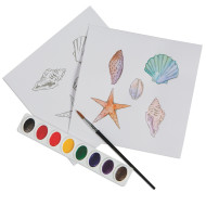 Watercolor Art Starters (pack of 24)
