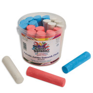 Color Splash!® Patriotic Chalk Bucket (bucket of 20)