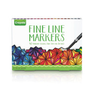 Crayola® Fine Line Markers (set of 40)