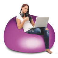 Illuminated Color Change Inflatable Chair