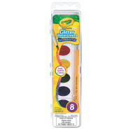 Crayola® Washable Glitter Watercolor Paints
