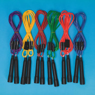 Adjustable Length Jump Rope (set of 6)