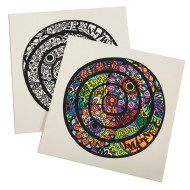 Velvet Inspiration Mandala Posters (pack of 24)