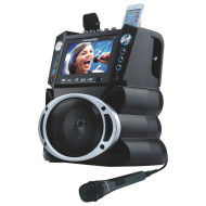 "DVD/CDG/MP3G Karaoke System with 7"" TFT Color Screen and Record Function"