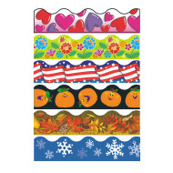 Seasonal Bulletin Border Trim Pack (pack of 6)
